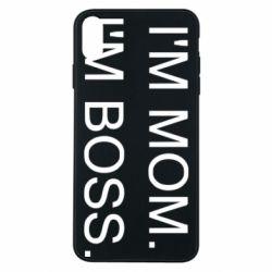 Чохол для iPhone Xs Max I'm mom. i'm boss.
