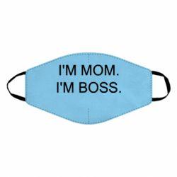Маска для обличчя I'm mom. i'm boss.