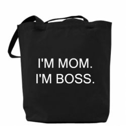 Сумка I'm mom. i'm boss.