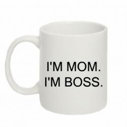 Кружка 320ml I'm mom. i'm boss.