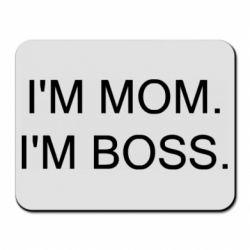 Килимок для миші I'm mom. i'm boss.