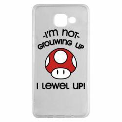 Чехол для Samsung A5 2016 I'm not growing up, i level up