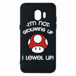 Чехол для Samsung J2 2018 I'm not growing up, i level up