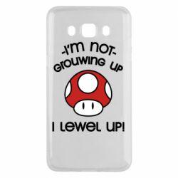 Чехол для Samsung J5 2016 I'm not growing up, i level up
