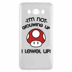 Чехол для Samsung J7 2016 I'm not growing up, i level up
