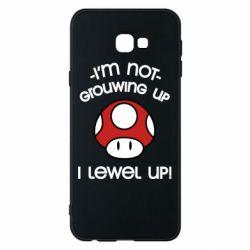 Чехол для Samsung J4 Plus 2018 I'm not growing up, i level up