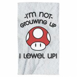 Полотенце I'm not growing up, i level up