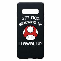 Чехол для Samsung S10+ I'm not growing up, i level up