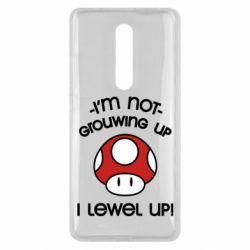 Чехол для Xiaomi Mi9T I'm not growing up, i level up