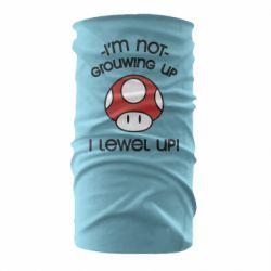 Бандана-труба I'm not growing up, i level up