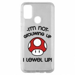 Чехол для Samsung M30s I'm not growing up, i level up