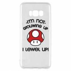 Чехол для Samsung S8 I'm not growing up, i level up