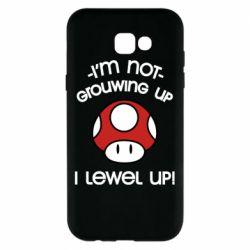 Чехол для Samsung A7 2017 I'm not growing up, i level up