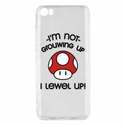 Чехол для Xiaomi Mi5/Mi5 Pro I'm not growing up, i level up