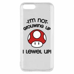 Чехол для Xiaomi Mi6 I'm not growing up, i level up