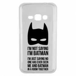Чехол для Samsung J1 2016 I'm not saying i'm batman - FatLine