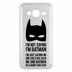 Чехол для Samsung J3 2016 I'm not saying i'm batman - FatLine