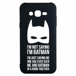 Чехол для Samsung J7 2015 I'm not saying i'm batman - FatLine
