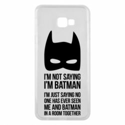 Чехол для Samsung J4 Plus 2018 I'm not saying i'm batman - FatLine