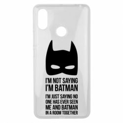 Чехол для Xiaomi Mi Max 3 I'm not saying i'm batman - FatLine