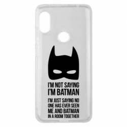 Чехол для Xiaomi Redmi Note 6 Pro I'm not saying i'm batman - FatLine