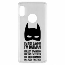 Чехол для Xiaomi Redmi Note 5 I'm not saying i'm batman - FatLine