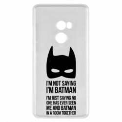 Чехол для Xiaomi Mi Mix 2 I'm not saying i'm batman - FatLine