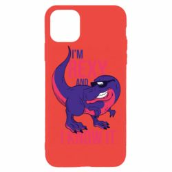 Чохол для iPhone 11 Pro I'm Rexy and i know it