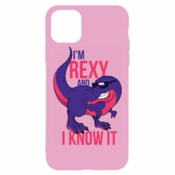 Чохол для iPhone 11 Pro Max I'm Rexy and i know it