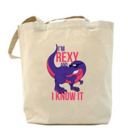 Сумка I'm Rexy and i know it