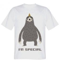 Футболка I'm special Sloth