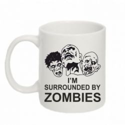 Кружка 320ml I'm surrounded by zombies - FatLine