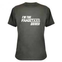 Камуфляжная футболка I'm the Fake Taxi Driver