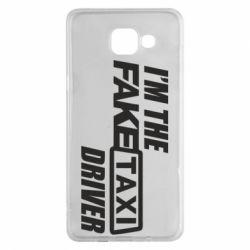 Чехол для Samsung A5 2016 I'm the Fake Taxi Driver