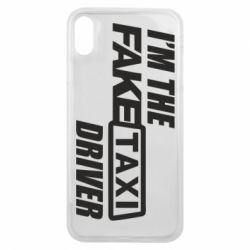 Чехол для iPhone Xs Max I'm the Fake Taxi Driver