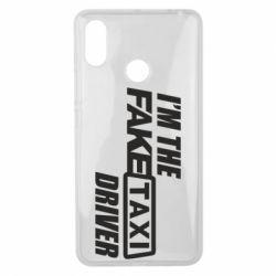 Чехол для Xiaomi Mi Max 3 I'm the Fake Taxi Driver