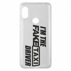 Чехол для Xiaomi Redmi Note 6 Pro I'm the Fake Taxi Driver
