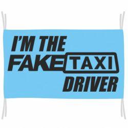 Флаг I'm the Fake Taxi Driver