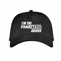 Детская кепка I'm the Fake Taxi Driver