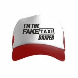 Детская кепка-тракер I'm the Fake Taxi Driver
