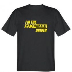 Футболка I'm the Fake Taxi Driver