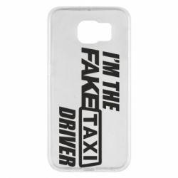 Чехол для Samsung S6 I'm the Fake Taxi Driver