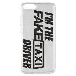 Чехол для Xiaomi Mi Note 3 I'm the Fake Taxi Driver