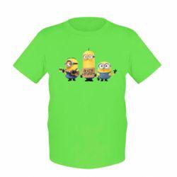 Детская футболка I'm with stupid - FatLine
