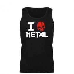 Майка чоловіча I metal - FatLine