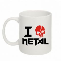 Кружка 320ml I love metal