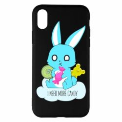 Чехол для iPhone X/Xs I need more candy