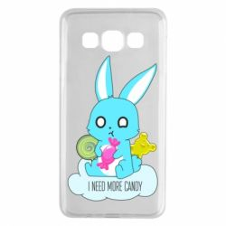 Чехол для Samsung A3 2015 I need more candy