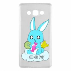 Чехол для Samsung A7 2015 I need more candy