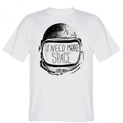 Мужская футболка I need more space - FatLine